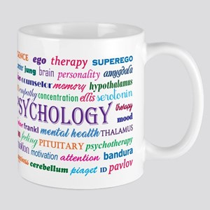 Psychology Word Cloud Mugs
